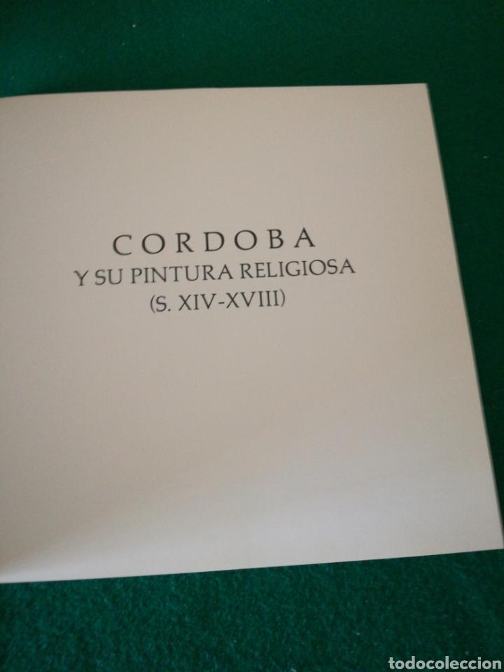 Libros de segunda mano: CORDOBA Y SU PINTURA RELIGIOSA CATALOGO - Foto 5 - 175406500