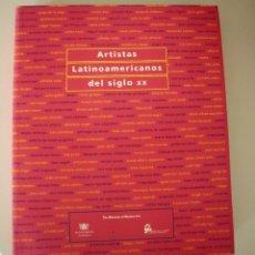 Libros de segunda mano: ARTISTAS LATINOAMERICANOS.. Lote 175506138