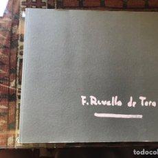 Libros de segunda mano: F. REVELLO DE TORO. COMO NUEVO. Lote 175816799