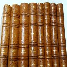 Libros de segunda mano: ARTE, 8 VOLÚMENES CON LA REVISTA FORMA Y COLOR ESPECTACULAR ENCUADERNACIÓN PARTICULAR EN PIEL.. Lote 176201072