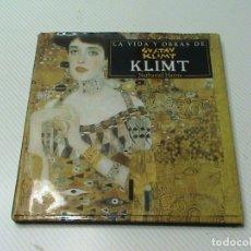 Libros de segunda mano: LA VIDA Y OBRAS DE KLIMT (NATHANIEL HARRIS) . Lote 176229460