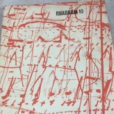 Libros de segunda mano: QUADRUM REVUE D'ART MODERNE BRUSSELS ASSOCIATION POUR LA DIFFUSION ARTISTIQUE Nº 10 1961. Lote 176337363