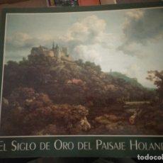 Libros de segunda mano: EL SIGLO DE ORO DEL PAISAJE HOLANDÉS. Lote 176402585
