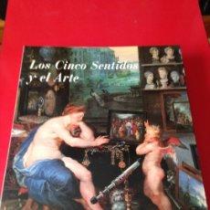 Libros de segunda mano: LOS CINCO SENTIDOS Y EL ARTE. CATALOGO EXPOSICION. PATROCINIO BBVA Y MUSEO DEL PRADO. Lote 176575379