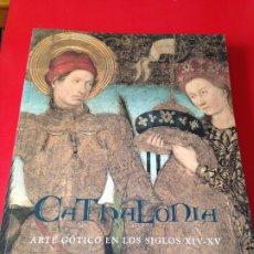 Libros de segunda mano: CATHALONIA. ARTE GOTICO EN LOS SIGLOS XIV Y XV. MUSEO DEL PRADO. AÑO 1997.MNAC Y CAIXA. Lote 176576065