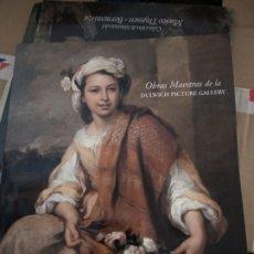 Libros de segunda mano: OBRAS MAESTRAS DE LA DULWICH PICTURE GALLERY - VARIOS AUTORES. Lote 176694078