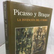 Libros de segunda mano: PICASSO Y BRAQUE LA INVENCIÓN DEL CUBISMO EDICIONES POLÍGRAFA. WILLIAM RUBIN 1ª EDICIÓN 1991. Lote 176753350