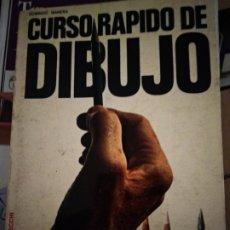 Libros de segunda mano: CURSO RÁPIDO DE DIBUJO. DOMÉNICO MANERA. EDITORIAL DE VECCHI. . Lote 176784272