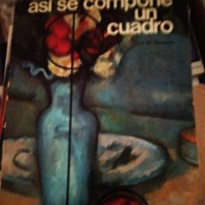 Libros de segunda mano: ASÍ SE COMPONE UN CUADRO. JOSÉ MARÍA PARRAMÓN. INSTITUTO PARRAMÓN. Lote 176784328