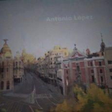 Libros de segunda mano: PINTURA SIGLO . XX . ANTONIO LÓPEZ MUSEO THYSSEN AÑO 2011 CATÁLOGO EXPOSICIÓN. Lote 176787117