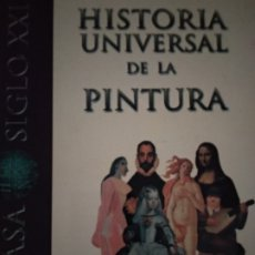 Libros de segunda mano: HISTORIA UNIVERSAL DE LA PINTURA. PUBLICADO POR ESPASA CALPE. Lote 176788997