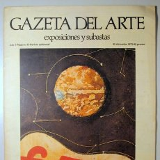 Libros de segunda mano: ERNST, MAX - SURREALISMO - GAZETA DEL ARTE. NÚM. 13. EXPOSICIONES Y SUBASTAS - MADRID 1973 - ILUSTRA. Lote 176832184