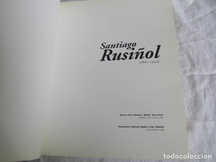 Libros de segunda mano: Santiago Rusiñol 1861-1931 Fundación Mapfre, Museo de Art Modern Barcelona - Foto 5 - 176980550