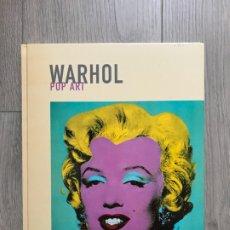 Libros de segunda mano: WARHOL - POP ART - JOSÉ MARÍAA FAERNA - ARTE MODERNO (POLÍGRAFA, 2006) EN CATALÁN. Lote 177230587