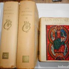 Libros de segunda mano: VV.AA LOS PINTORES CELEBRES (3 TOMOS) Y96123. Lote 177257318