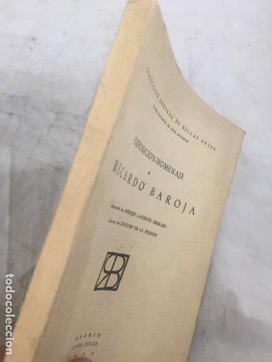 Libros de segunda mano: Lafuente Ferrari. Exposición-Homenaje a Ricardo Baroja. 1957 - Foto 2 - 177336189