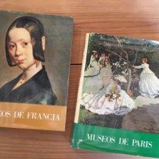 Libros de segunda mano: MUSEOS DE FRANCIA Y DE PARIS - SALVAT, CANTIDAD DE ILUSTRACIONES DE OBRAS DE ARTE. Lote 177474197