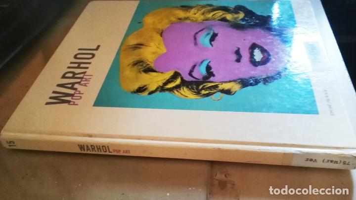 Libros de segunda mano: Libro de ANDY WARHOL, POP ART. ED. POLIGRAFA. 2006. 63 PAGINAS - Foto 4 - 178250503