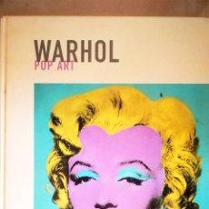 Libros de segunda mano: LIBRO DE ANDY WARHOL, POP ART. ED. POLIGRAFA. 2006. 63 PAGINAS . Lote 178250503
