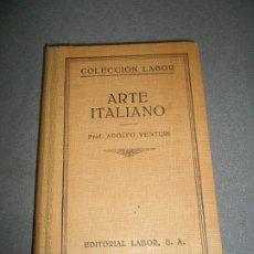 Libros de segunda mano: ARTE ITALIANO. Lote 178291256