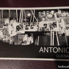 Libros de segunda mano: LIBRO CATÁLOGO - ANTONIO QUESADA. MUSEO DE OURENSE. PINTURA GALLEGA. GALICIA. FIRMADO Y DEDICADO!. Lote 178901178
