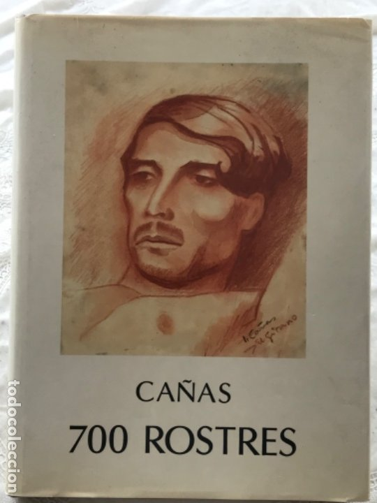 LIBRO DE JOSEP CAÑAS -ROSTRES 1986 EDICIONS NOU ART THOR. (Libros de Segunda Mano - Bellas artes, ocio y coleccionismo - Pintura)