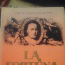 Libros de segunda mano: LA FORTUNA DE MURILLO (SEVILLA, 1989) DEDICATORIA AUTÓGRAFA DE LA AUTORA. Lote 178972548