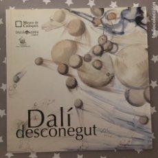 Libros de segunda mano: DALI DESCONEGUT, CATALOGO. Lote 178989946
