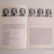 Libros de segunda mano: ALFREDO ALCAÍN, CATÁLOGO GALERÍA EGAM, MADRID 1980. Lote 179095540