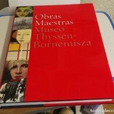 Libros de segunda mano: OBRAS MAESTRAS. MUSEO THYSSEN-BORNEMISZA. Lote 179109901
