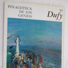 Libros de segunda mano: PINACOTECA DE LOS GENIOS Nº 94 - RAOUL DUFY - EDITORIAL CODEX 1966. . Lote 179336338