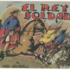 Libros de segunda mano: EL REY SOLDADO-SERIE HISTORICA-CUADERNO PINTURA ULTRA. LEER DESCRP.. Lote 179400522