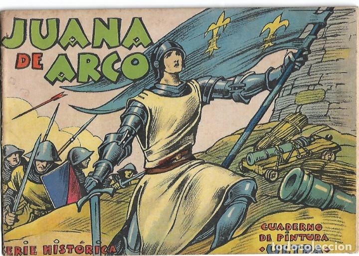 JUANA DE ARCO -CUADERNO PINTURA ULTRA PERFECTO. LEER DESCRP. (Libros de Segunda Mano - Bellas artes, ocio y coleccionismo - Pintura)