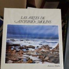 Libros de segunda mano: LAS ARTES DE ANTONIO MOLINS // EDITORIAL NAVAL. Lote 179950465