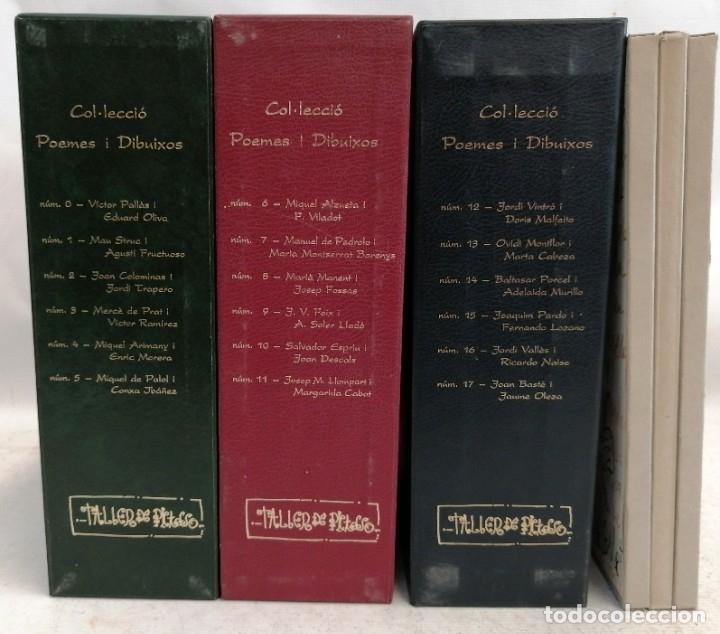 IMPORTANTE COLECCIÓN POEMES I DIBUIXOS DEL TALLER DE PICASSO. COMPLETA (Libros de Segunda Mano - Bellas artes, ocio y coleccionismo - Pintura)