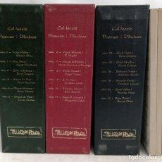 Libros de segunda mano: IMPORTANTE COLECCIÓN POEMES I DIBUIXOS DEL TALLER DE PICASSO. COMPLETA. Lote 180074771