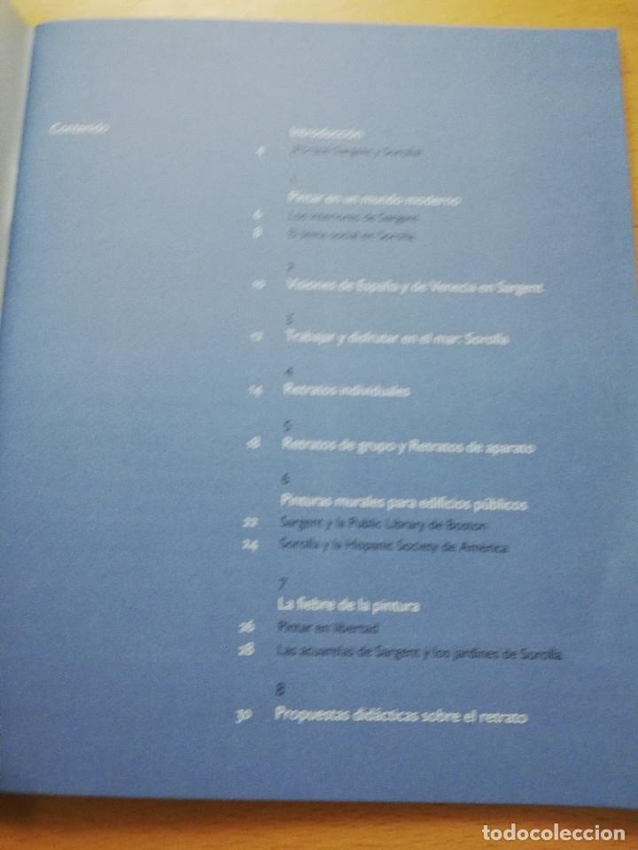 Libros de segunda mano: SARGENT / SOROLLA. MUSEO THYSEEN - BORNEMISZA. GUÍA DIDÁCTICA (TEXTOS: ANA MORENO) - Foto 3 - 180427398
