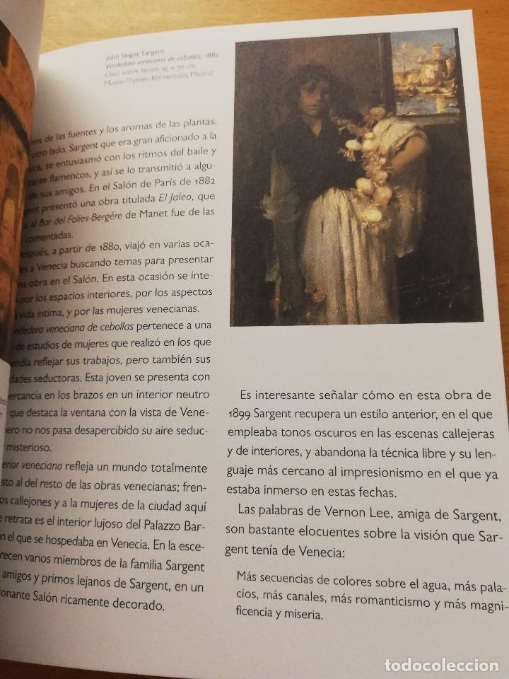 Libros de segunda mano: SARGENT / SOROLLA. MUSEO THYSEEN - BORNEMISZA. GUÍA DIDÁCTICA (TEXTOS: ANA MORENO) - Foto 7 - 180427398