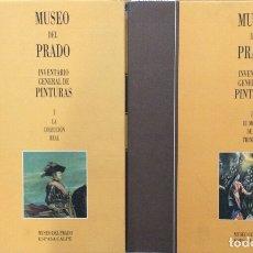 Libros de segunda mano: MUSEO DEL PRADO. INVENTARIO GENERAL DE PINTURAS -2 TOMOS - AA. VV.. Lote 180437016