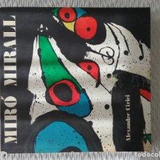 Libros de segunda mano: MIRÓ MIRALL. ALEXANDRE CIRICI. Lote 181110516