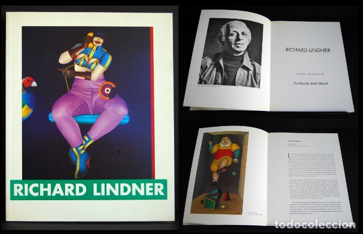 Libros de segunda mano: RICHARD LINDER. FUNDACIÓN JUAN MARCH 1998 - Foto 1 - 181418505