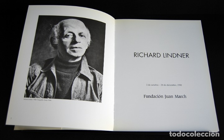 Libros de segunda mano: RICHARD LINDER. FUNDACIÓN JUAN MARCH 1998 - Foto 3 - 181418505
