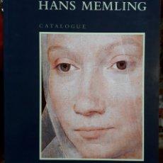 Libros de segunda mano: DIRK DE VOS . HANS MEMLING CATALOGUE. Lote 181499771