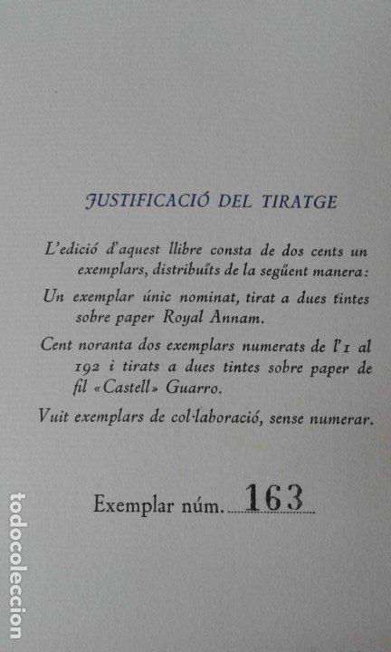 Libros de segunda mano: EL SOMRIURE DE SA BOQUERA PALAU ILUSTRADO BENET 200 EJEMPLARES - Foto 3 - 181519708
