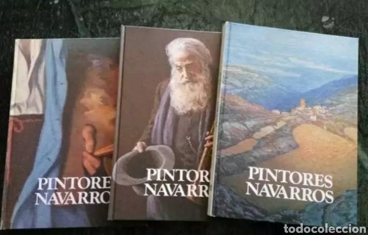 PINTORES NAVARROS. 3 TOMOS, COMPLETO (Libros de Segunda Mano - Bellas artes, ocio y coleccionismo - Pintura)