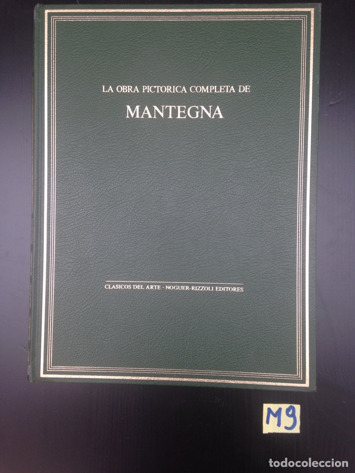 LA OBRA PICTÓRICA COMPLETA DE MANTEGNA (Libros de Segunda Mano - Bellas artes, ocio y coleccionismo - Pintura)