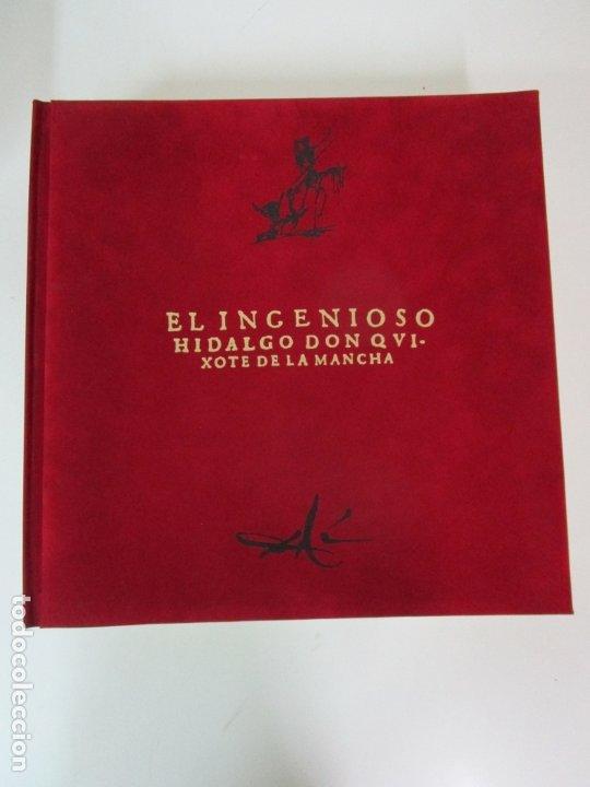 Libros de segunda mano: Don Quijote de la Mancha - 40 Ilustraciones Dalí - Ed Planeta - Fundación Gala Dalí - nº 663 de 998 - Foto 3 - 182145276
