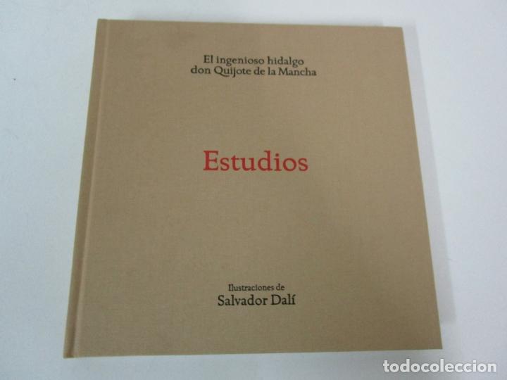 Libros de segunda mano: Don Quijote de la Mancha - 40 Ilustraciones Dalí - Ed Planeta - Fundación Gala Dalí - nº 663 de 998 - Foto 13 - 182145276