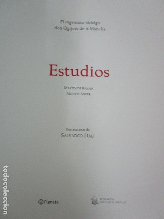 Libros de segunda mano: Don Quijote de la Mancha - 40 Ilustraciones Dalí - Ed Planeta - Fundación Gala Dalí - nº 663 de 998 - Foto 14 - 182145276