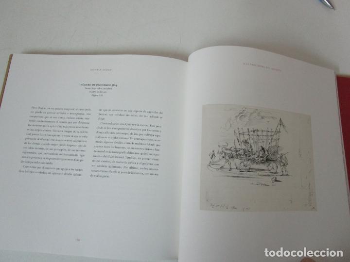 Libros de segunda mano: Don Quijote de la Mancha - 40 Ilustraciones Dalí - Ed Planeta - Fundación Gala Dalí - nº 663 de 998 - Foto 17 - 182145276